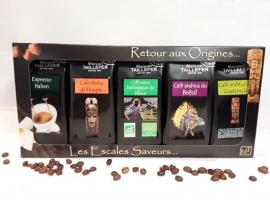 Coffret Café Grand Crus maison Taillefer